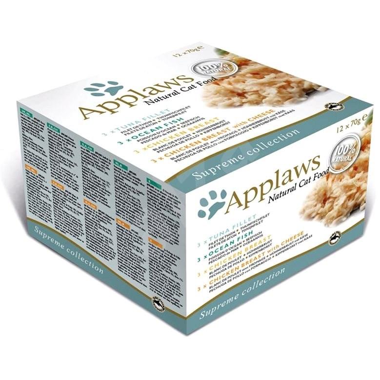 Applaws konzerva Cat multipack Supreme mix 12 × 70 g - Konzerva pro kočky