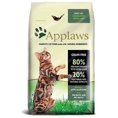 Applaws granule Cat Adult kuře s jehněčím  400 g - Granule pro kočky