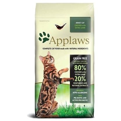 Applaws granule Cat Adult kuře s jehněčím 2 kg - Granule pro kočky
