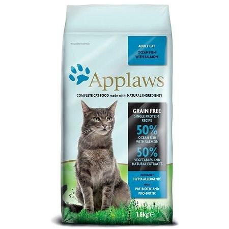 Applaws granule Cat Adult Mořské ryby s lososem 1,8 kg - Granule pro kočky