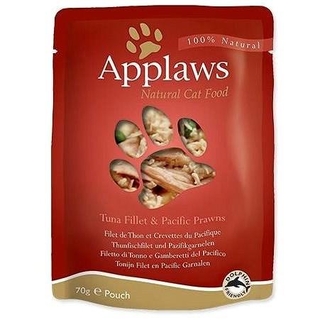 Applaws kapsička Cat tuňák a tygří krevety 70 g - Kapsička pro kočky