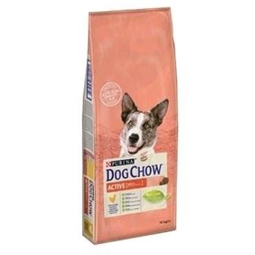 Dog Chow active kuře 14 kg - Granule pro psy