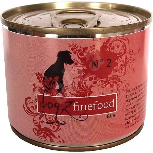 Dogz finefood s hovězím masem 200 g - Konzerva pro psy