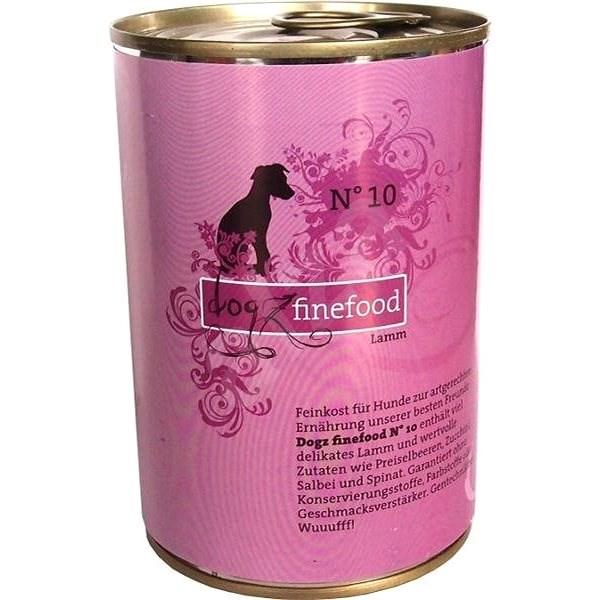 Dogz finefood s jehněčím masem 400 g - Konzerva pro psy