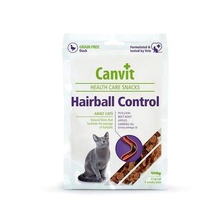 Canvit Snacks CAT Hairball Control 100g - Pamlsky pro kočky