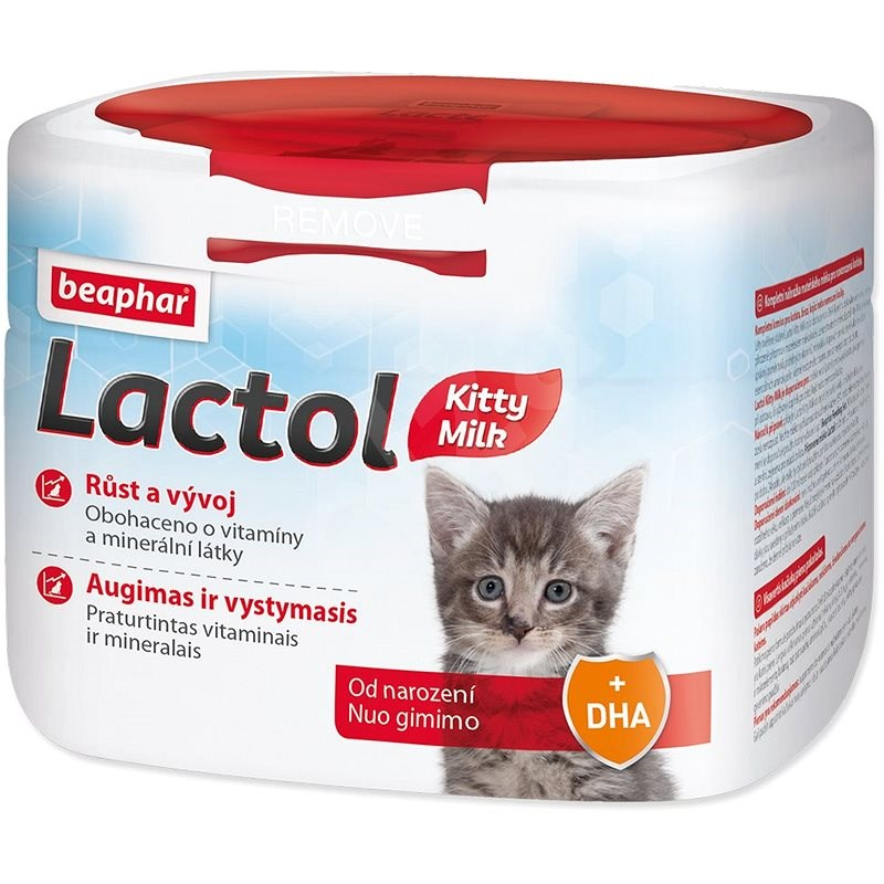 BEAPHAR Dried Milk Lactol Kitty 500g - Milk for kittens
