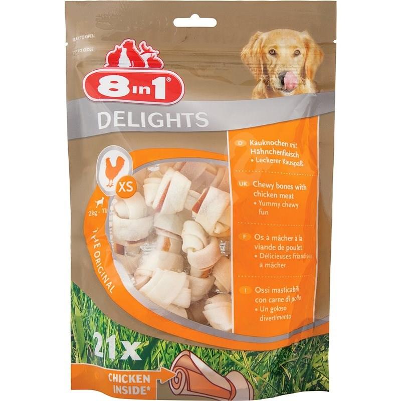 Kost žvýkací Delights XS bag 21ks - Kost pro psy
