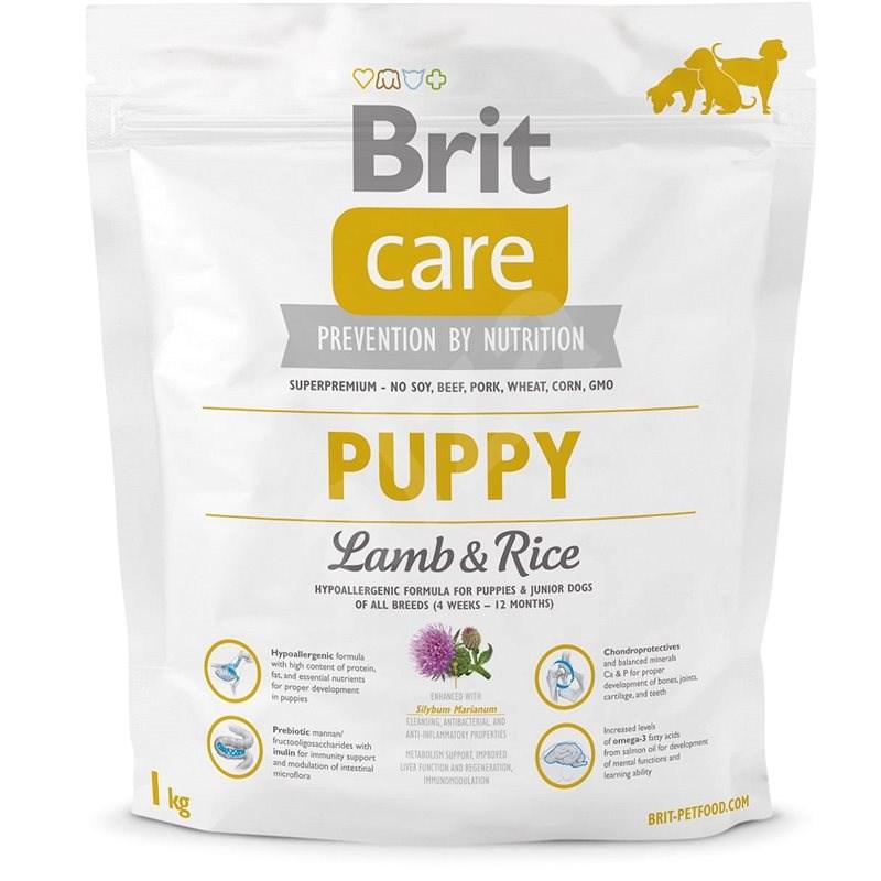 Brit Care puppy lamb & rice 1kg - Granule pro štěňata
