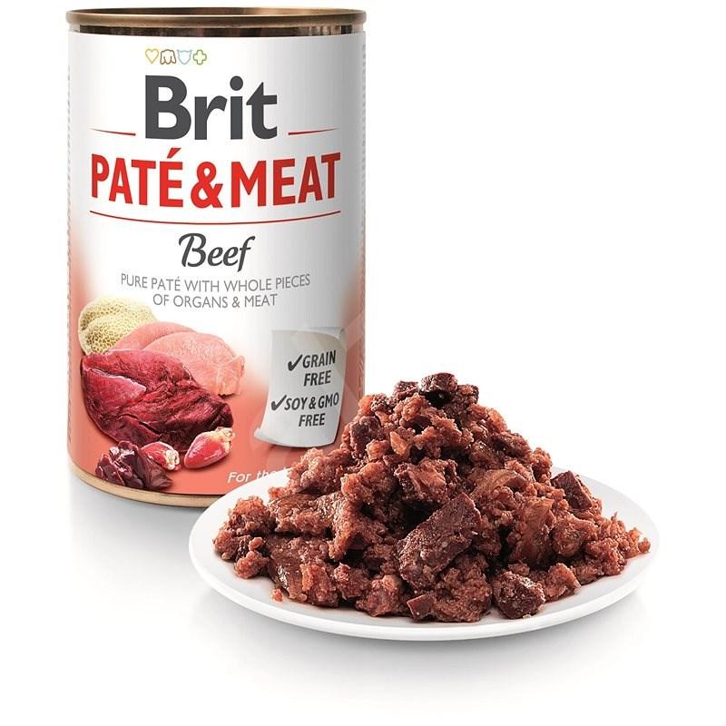 Brit Paté & Meat Beef 400 g  - Konzerva pro psy