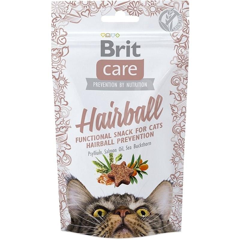 Brit Care Cat Snack Hairball 50 g - Pamlsky pro kočky