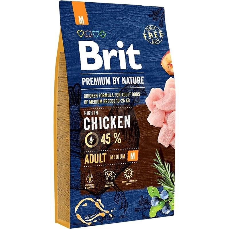 Brit Premium by Nature Adult M 8kg - Kibble for Dogs