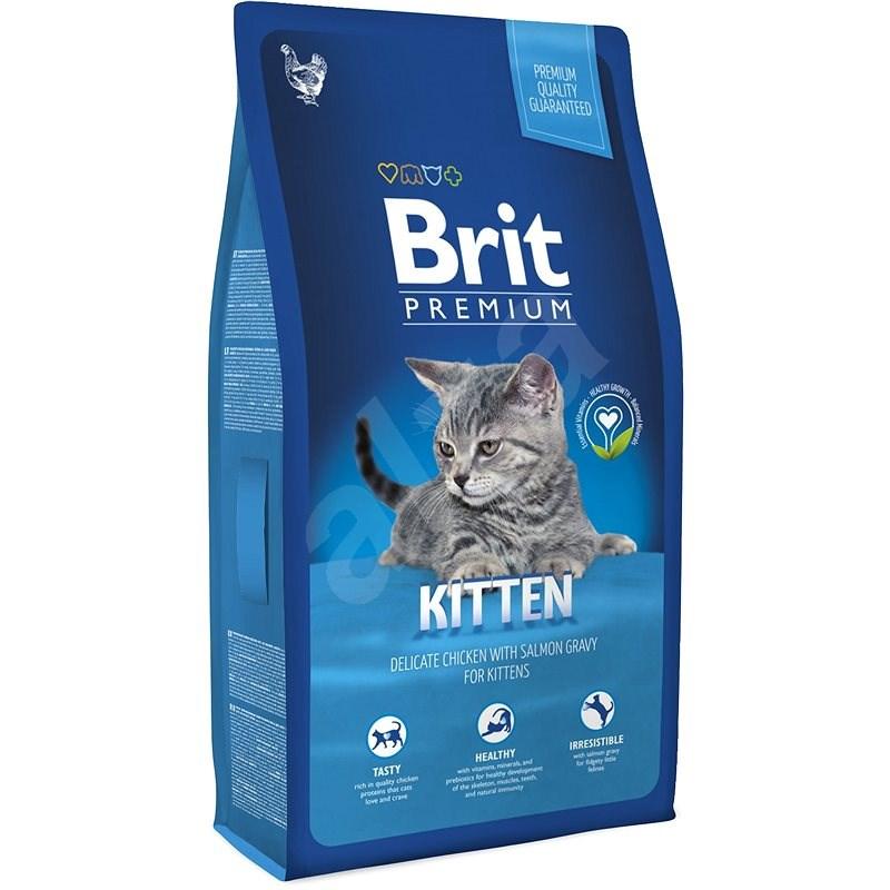Brit Premium Cat Kitten 8 kg - Granule pro koťata