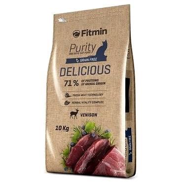 Fitmin cat Purity Delicious – 10 kg - Granule pro kočky