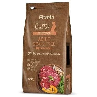 Fitmin dog Purity GF Adult Beef - 12 kg - Granule pro psy