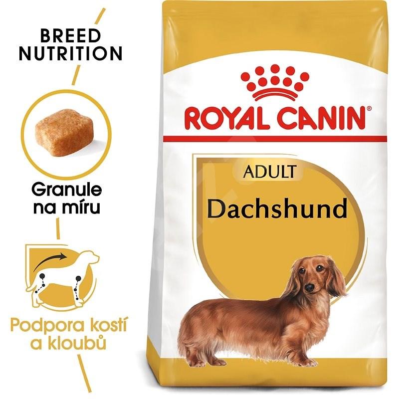 Royal Canin Dachshund Adult 1,5 kg - Granule pro psy