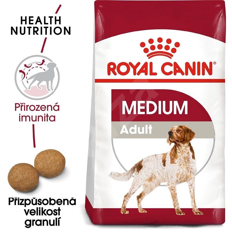Royal Canin Medium Adult 4 kg - Granule pro psy