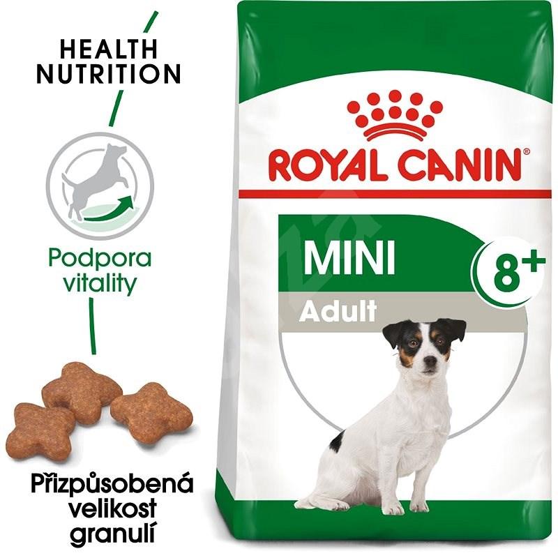 Royal Canin Mini Adult (8+) 0,8 kg - Granule pro psy