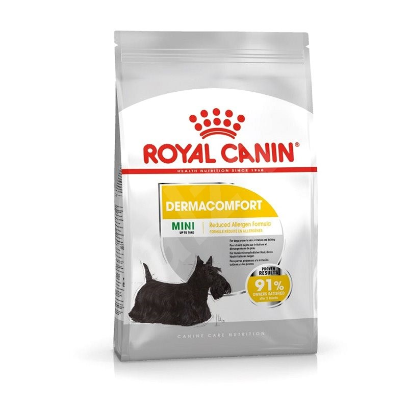 Royal Canin Mini Dermacomfort 3 kg - Granule pro psy
