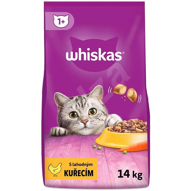 Whiskas granule kuřecí pro dospělé kočky 14kg - Granule pro kočky