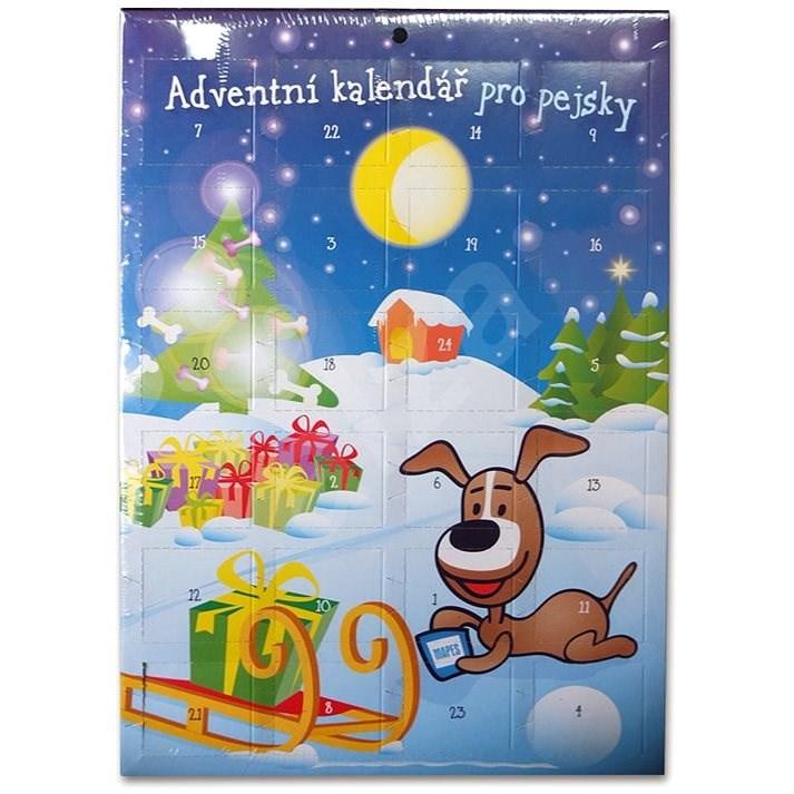 Mapes Adventní kalendář pro psy 280 g - Adventní kalendář pro psy
