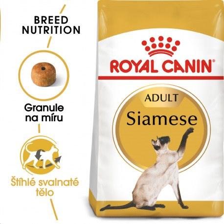 Royal Canin Siamese Adult 10 kg - Granule pro kočky
