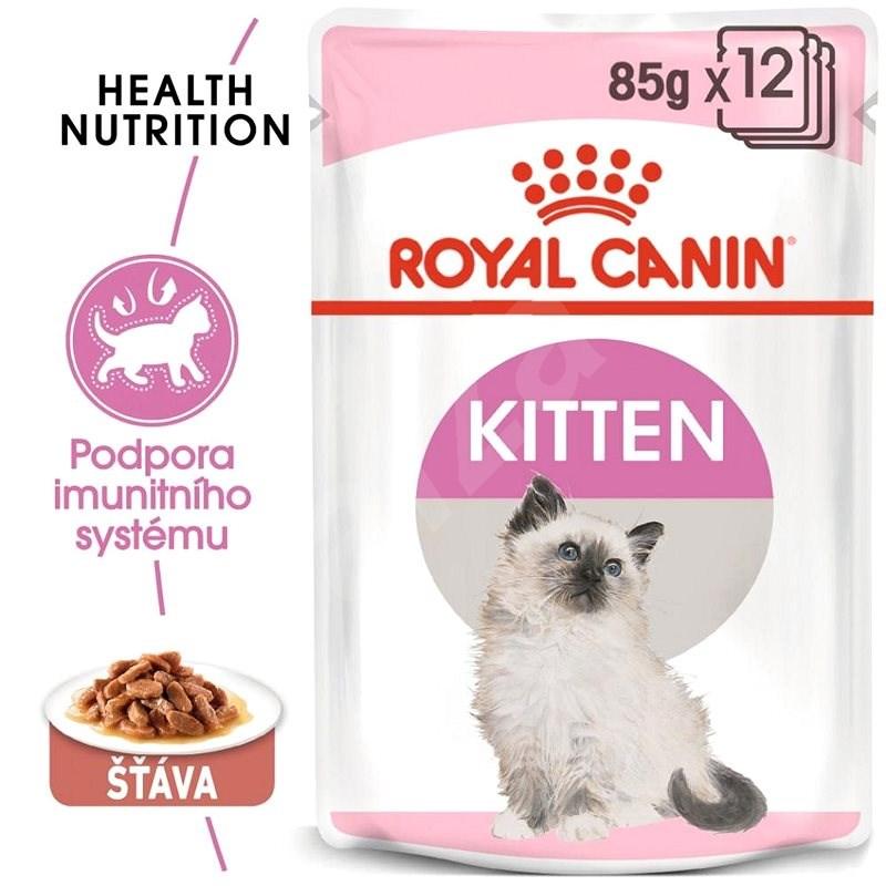 Royal Canin Kitten Instinctive Gravy 12 × 85 g - Kapsička pro kočky
