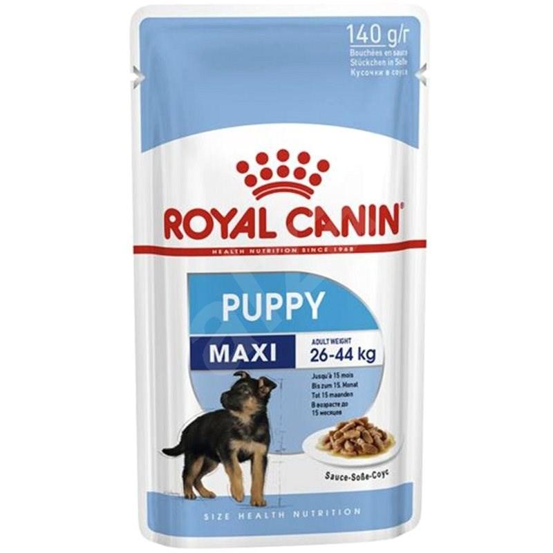 Royal Canin Maxi Puppy 10×140g - Kapsička pro psy