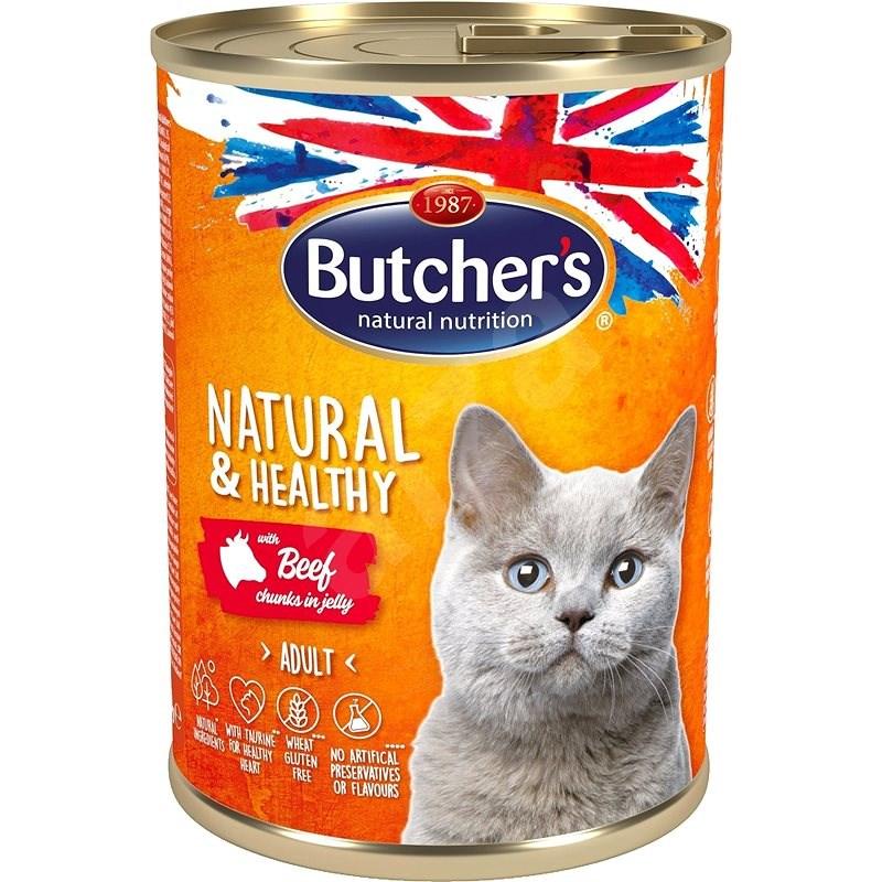 Butcher's Classic konzerva s hovězím masem 400 g - Konzerva pro kočky