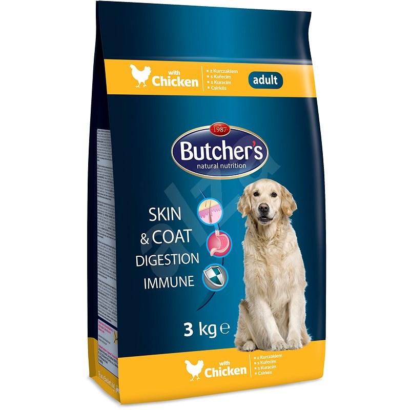 Butcher's granule pro psy Blue s kuřecím masem 3kg - Granule pro psy