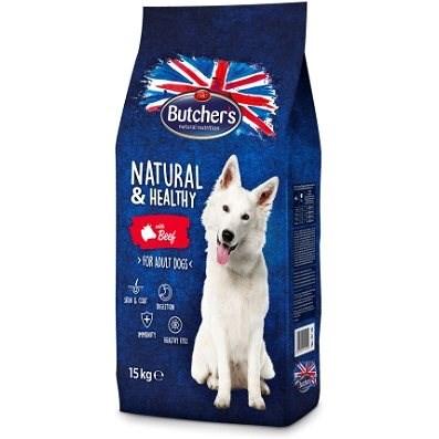 Butcher's granule pro psy Blue s hovězím masem 15kg - Granule pro psy