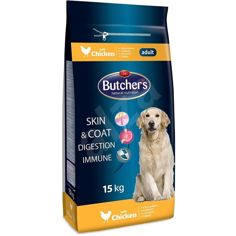 Butcher's granule pro psy Blue s kuřecím masem 15kg - Granule pro psy