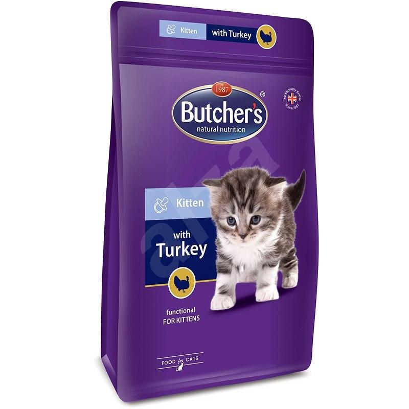 Butcher's Pro Series granule pro koťata s krůtou 800 g - Granule pro koťata