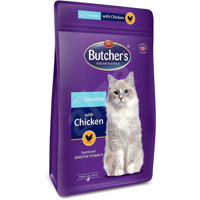 Butcher's Pro Series Sensitive granule pro kočky s kuřecím 800 g - Granule pro kočky