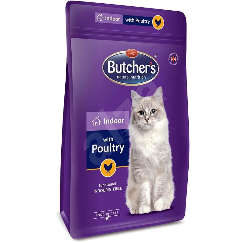 Butcher's Pro Series Indoor granule pro kočky s drůbežím 800 g - Granule pro kočky
