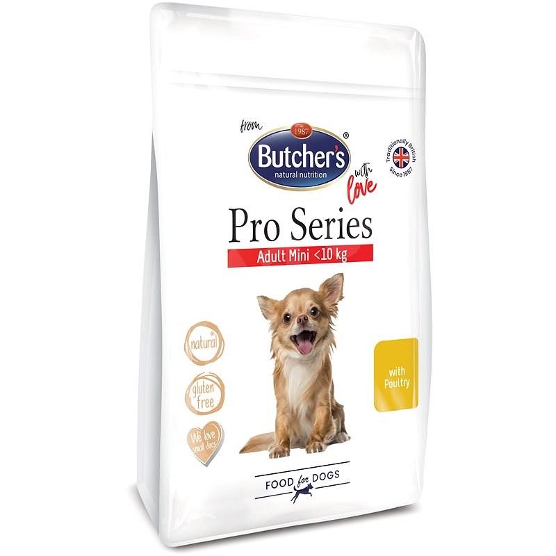 Butcher's Pro Series granule pro malé psy s drůbežím 800 g - Granule pro psy