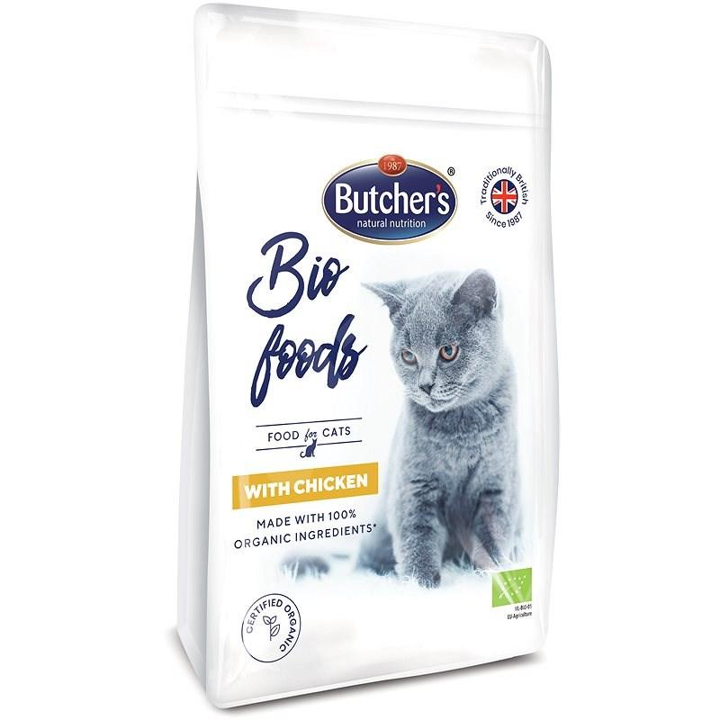 Butcher's Organic granule pro kočky s kuřecím 800 g - Granule pro kočky