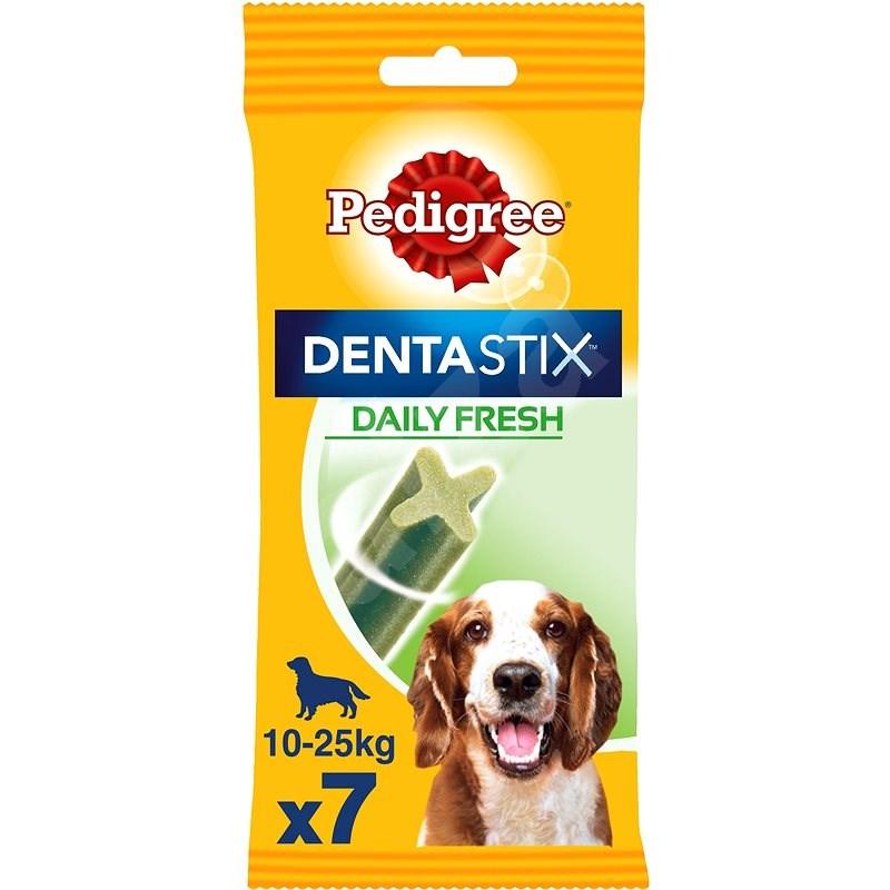 Pedigree Dentastix Daily Fresh dentální pamlsky pro psy středních plemen 7 ks 180 g - Pamlsky pro psy