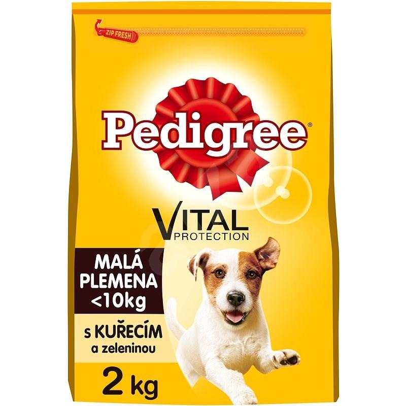Pedigree Vital Protection granule kuřecí se zeleninou pro dospělé psy malých plemen 2 kg - Granule pro psy