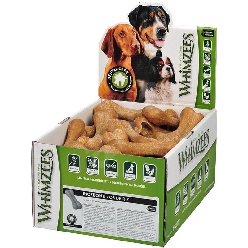 Whimzees Dental rýžová kost 60g, 50ks v balení - Pamlsky pro psy