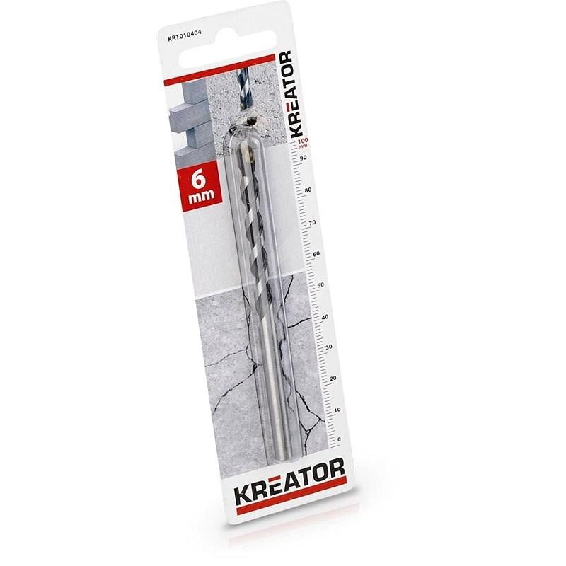 Kreator vrták do betonu 6 x 100 mm - Vrták