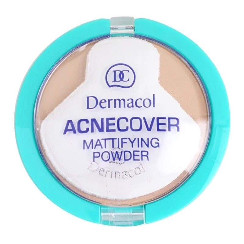 DERMACOL ACNEcover Mattifying Powder No.04 Honey 11 g - Pudr