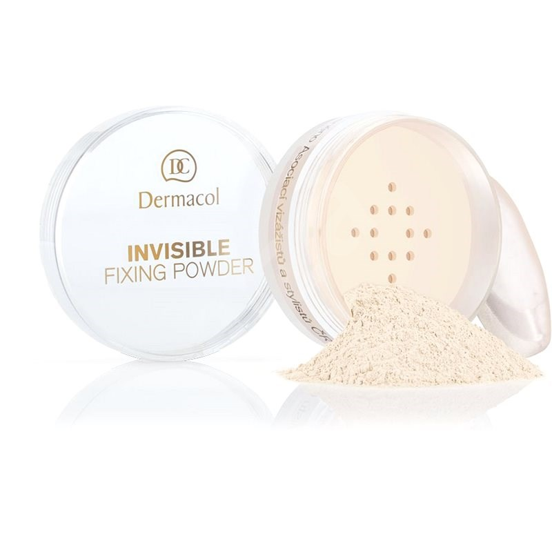 DERMACOL Invisible Fixing Powder Light 13,5 g - Pudr