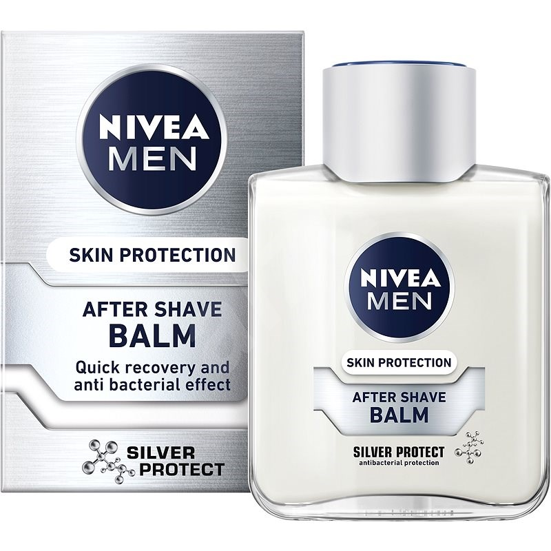 NIVEA Men Silver Protect After Shave Balm 100 ml - Balzám po holení