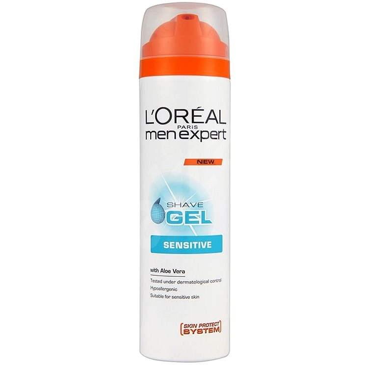 ĽORÉAL PARIS Men Expert Shave Gel Sensitive 200ml - Shaving Gel