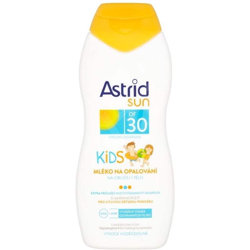 ASTRID SUN Dětské mléko na opalování SPF 30 200 ml - Opalovací mléko