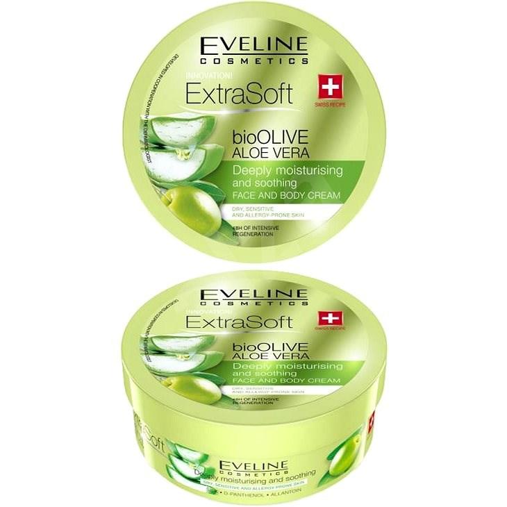 EVELINE COSMETICS Soft Bioolive Aloe Vera Face&Body Cream 175 ml - Krém