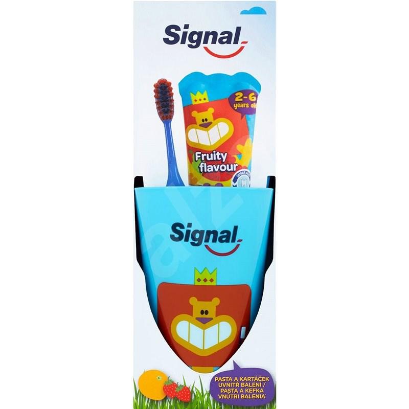 SIGNAL Kids Pack Blue Fruity Flavour - Sada pro ústní hygienu