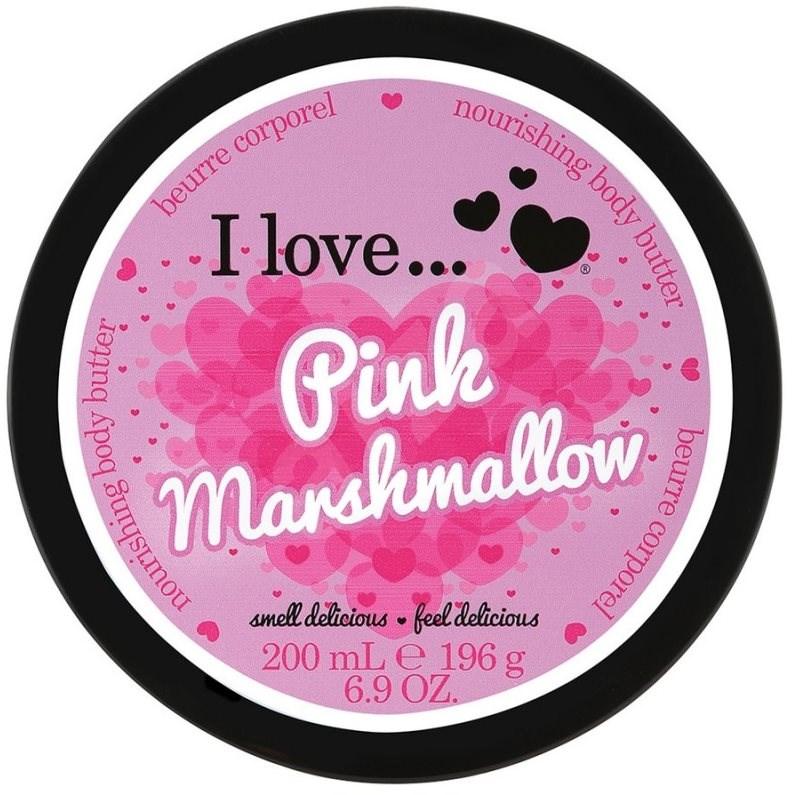 I LOVE… Nourishing Body Butter Pink Marshmallow 200 ml - Tělové máslo
