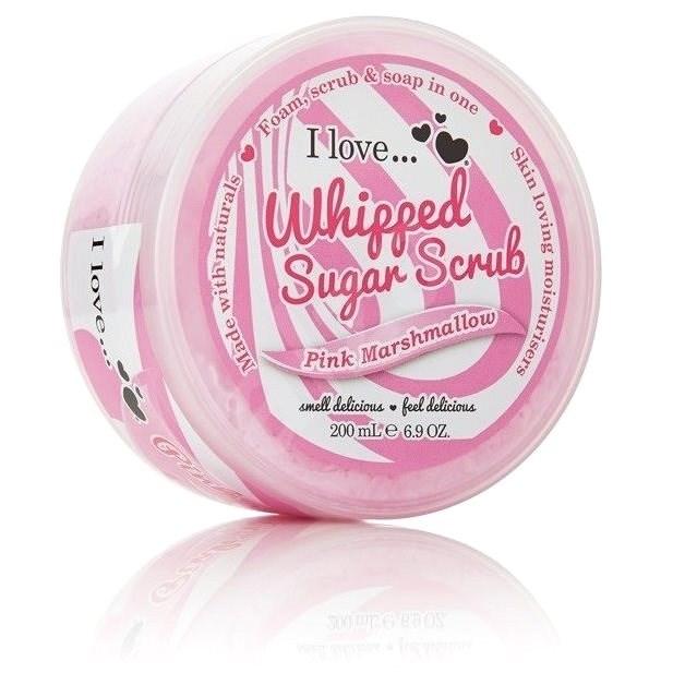 I LOVE… Whipped Sugar Body Scrub Pink Marshmallow 200 ml - Peeling