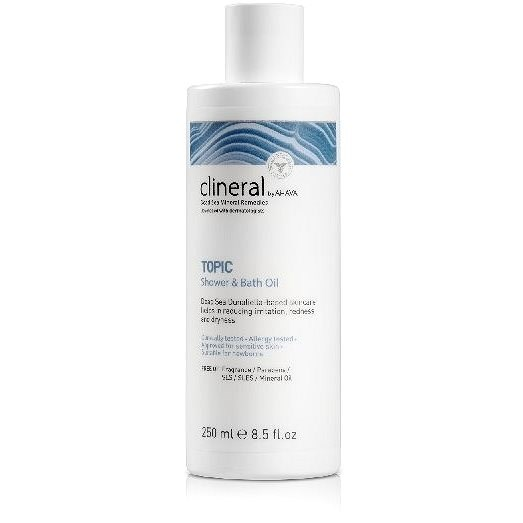 CLINERAL TOPIC Shower & Bath Oil 250 ml - Sprchový gel